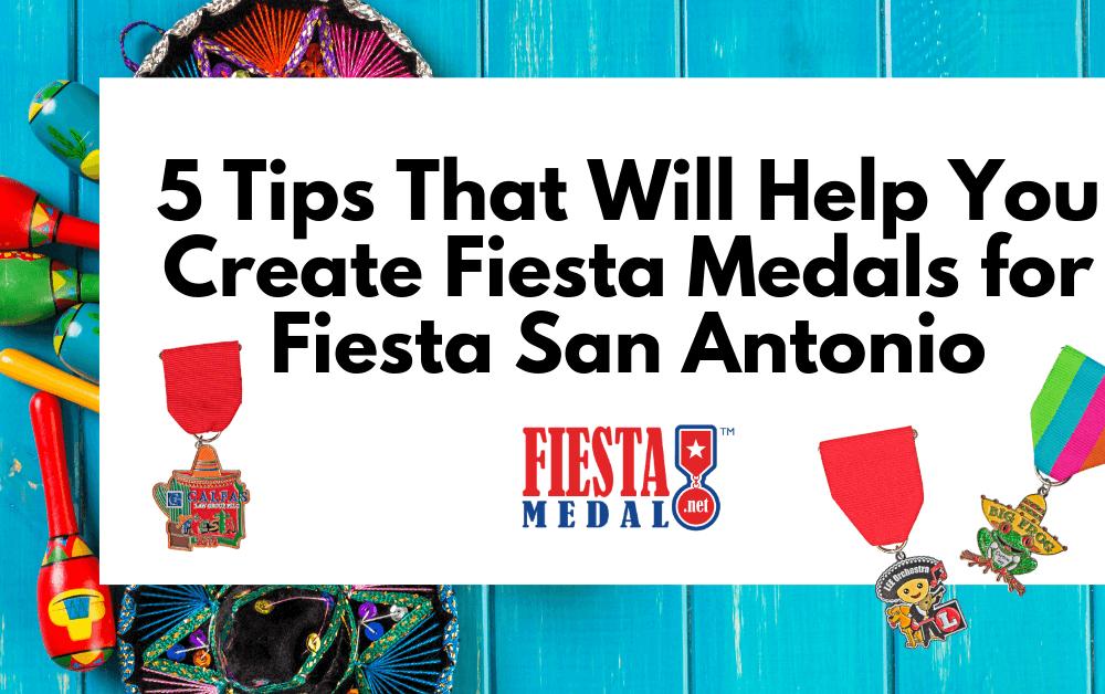 Fiesta Medals for Fiesta San Antonio